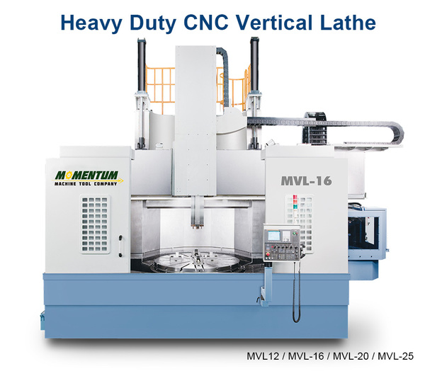 Heavy Duty CNC Vertical Lathe